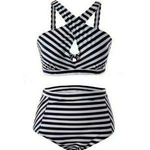Other - High Waist Bikini Set Swimsuit Bathing Suit 16/18